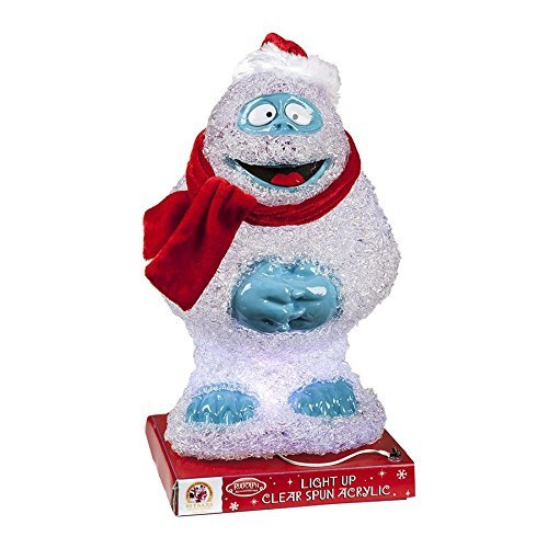 Rudolph the red nosed reindeer bumble abominable snowman for Abominable snowman christmas light decoration