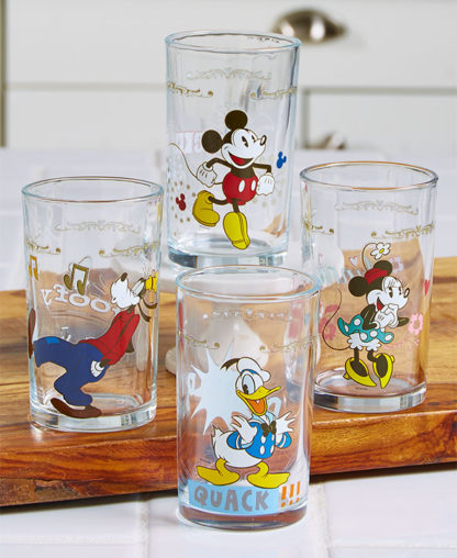 Mickey Mouse Juice Glass