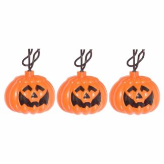 Pumpkin Jack-O-Lantern Light Set