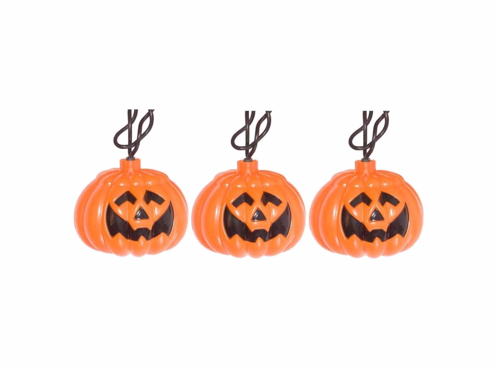 Pumpkin Jack-O-Lantern Light Set