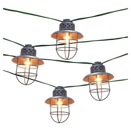Metal Lantern String Lights
