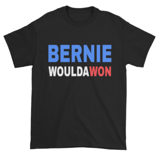 Bernie Woulda Won T-Shirt, Black