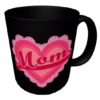 Valentine's Day Mug, MOM with Pink Heart