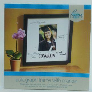 Graduation Autograph Frame - Congrats!