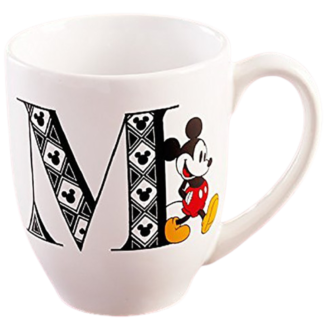Mickey Mouse Monogram Mug - Letter M