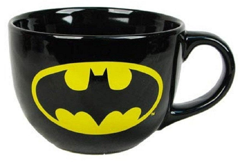 Batman Mug - 24oz Ceramic Soup Mug - Holidayholic