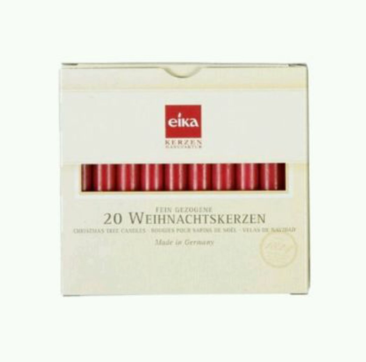 Eika red chime candles