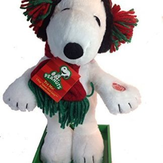 Dancing Animated Snoopy with Ear Muffs