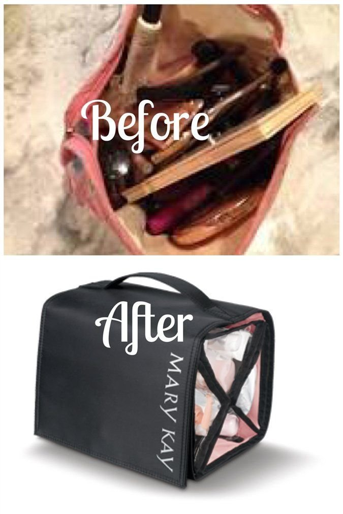 314f0ce20223 Mary Kay Travel Roll up Bag 4 Removable Pouches