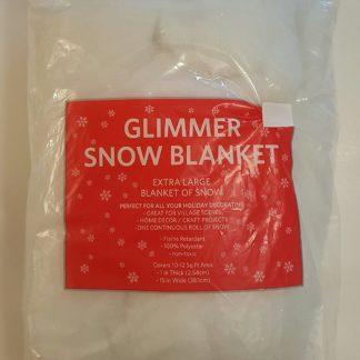 Christmas Snow Glimmer Blanket