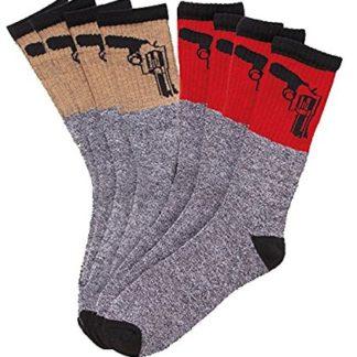 Outdoorsman Men's Thermal Socks 4 Pack