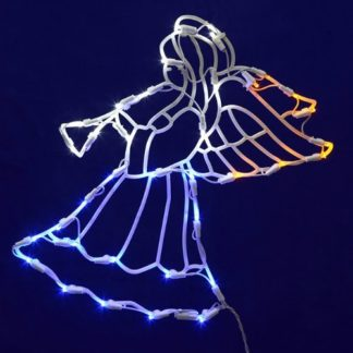 Lighted Angel Christmas Decoration