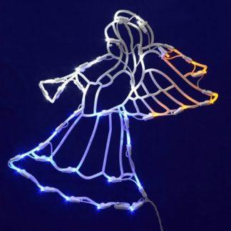 Lighted Angel Christmas Decoration